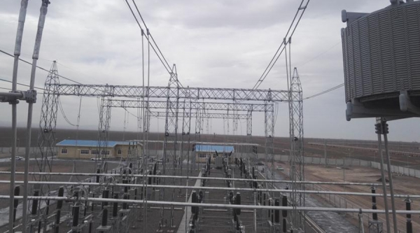 400kV POWER LINE, Sarcheshmeh Substation
