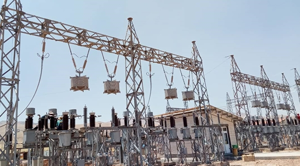 230KV POWER LINE, Shahed Substation