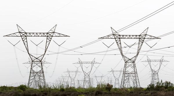 230KV Power Line, Neka Power Station Exit
