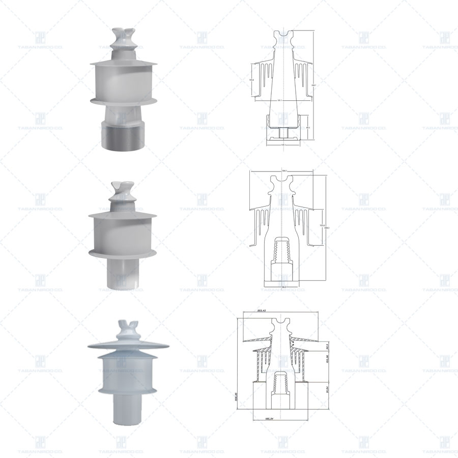 HYBRID - PIN TYPE & LINE POST TYPE INSULATORS